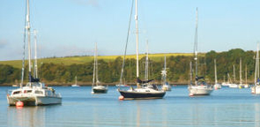 Sailing and boating and play at Lawrenny Quay